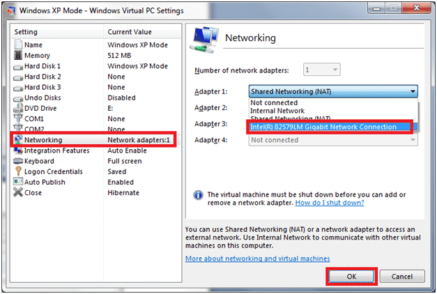 How to connect Virtual Machine to Network Printer