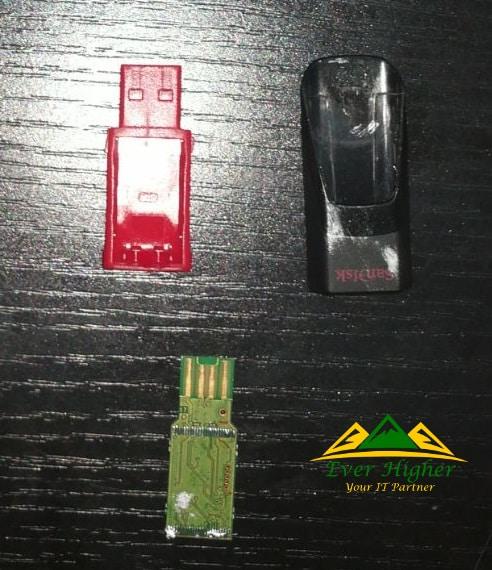 thumb drive disclosure