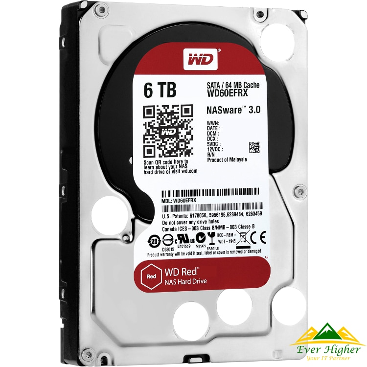 Red WD NAS data recovery singapore