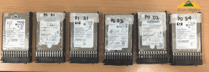 HP Server 5 Disk RAID 5 Data Recovery Service