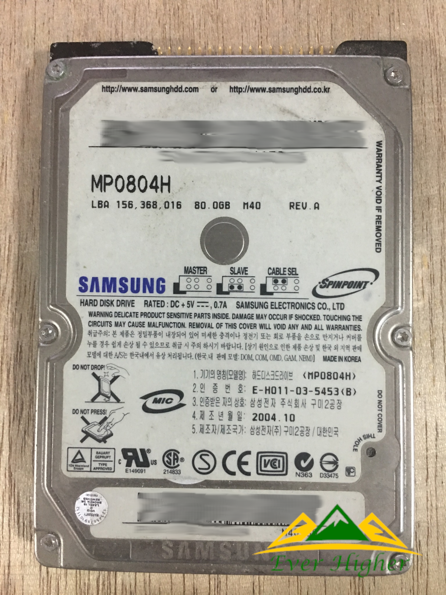 Samsung 2.5 hdd data recovery service in Singapore
