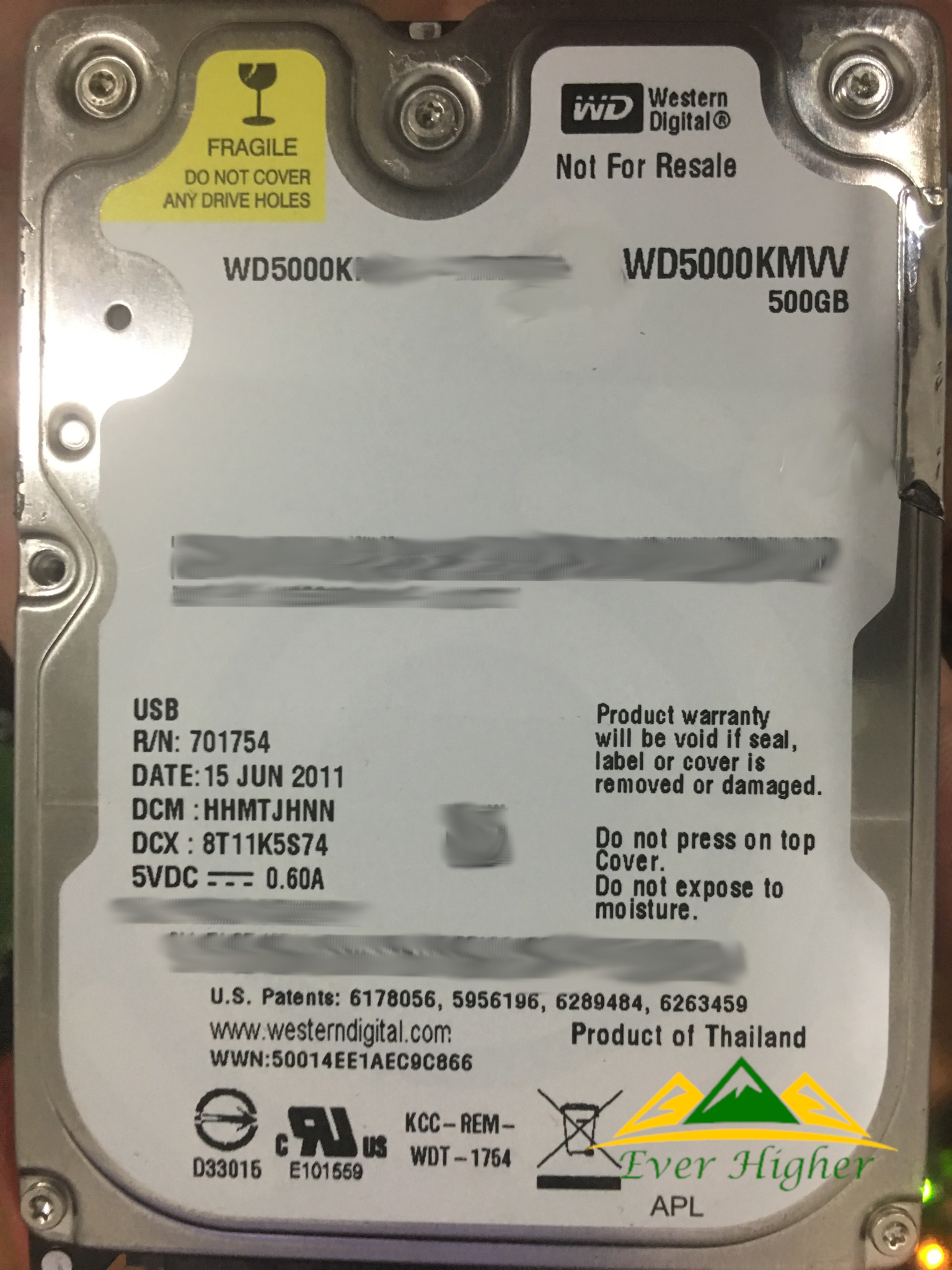 WD 500GB External Hard Disk In Singapore