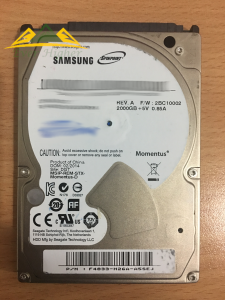 Samsung 2.TB external hard disk data recovery service in Singapore