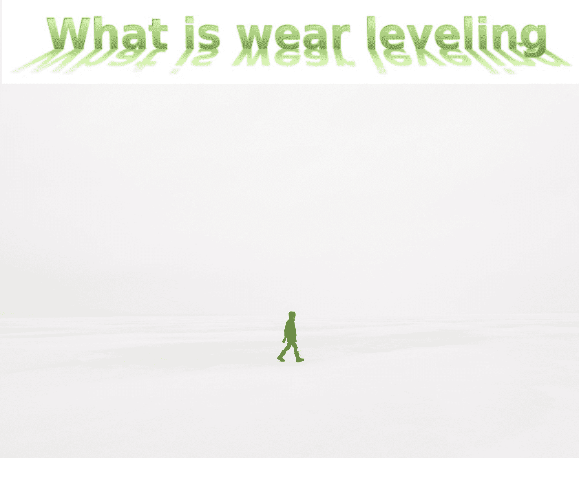 What is wear levelling